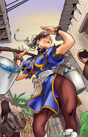[Battle Artist] Chun Li by Nimprod