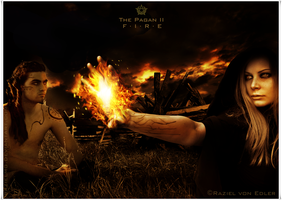The Pagan II Fire by GeneRazART