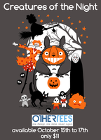 Creatures of the Night available at OtherTees! by machmigo