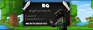 Youtube banner for KGFloTech by Exunary