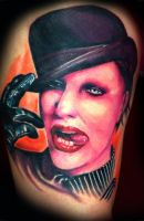 My Marilyn Manson Tattoo by mizuzinkaholik