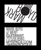 mark boyd business card by unclone