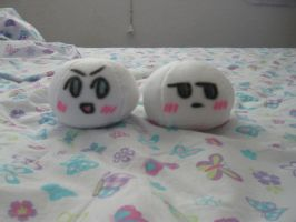 Denmark and Norway mochis by InuKid