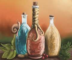 Potions by Crowsrock