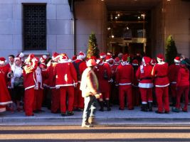 Too many Santa Clauses by Paraformaldehyde