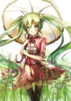 VOCALOID - MIKU walking under sunshine by shadowsinking