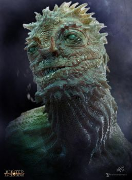Early Sargorn head design by Baizilla
