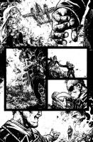 Wild Blue Yonder Issue 6 Page 22 Inks by Spacefriend-KRUNK