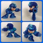 Mega Man by eightbitbert