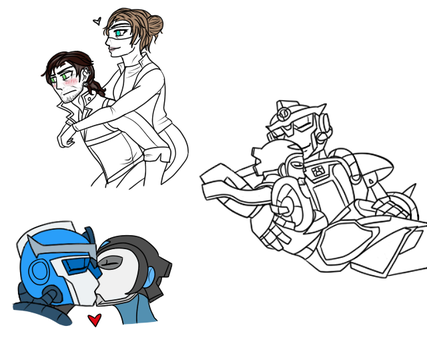 TFRB - QuickTide Doodles by TheWhovianHalfling