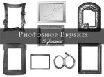 Frame Photoshop brushes by Lileya