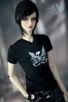 70+ Gothic Black T-Shirt by Angell-studio