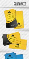 Corporate Business Card by artnook