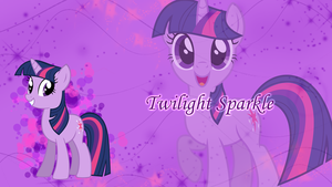 Twilight Sparkle Wallpaper by Pink-Mist10