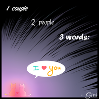 I love you c: by GiniXD