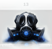 Gas Mask Interface by ScottKaneGUIs