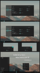 Nost Metro Dark Cyan For Win10 Anniversary Update by Cleodesktop