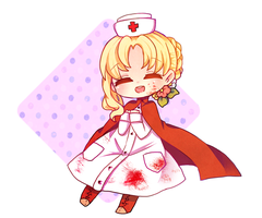 The Nurse by NEZUMI-NA