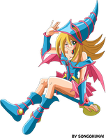 Dark Magician girl by Krizeii