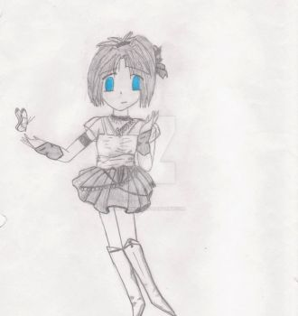 My Very First Anime Drawing by kibishii-umi