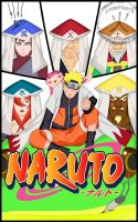 Naruto and Kages by Luiscotsuki3