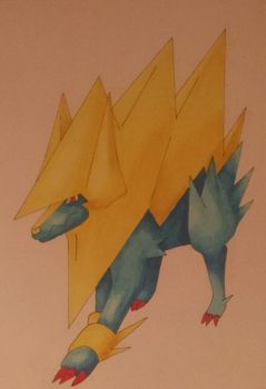 Manectric by Shadow-Storm99