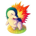 Cyndaquil by WinterThistles