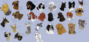 dog icons - TOY GROUP by shelzie