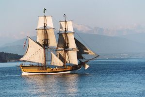 Lady Washington evening cruise by terrybare