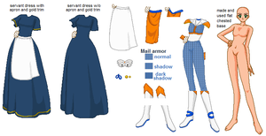 Past Phantom outfit or base by SailorPhantom