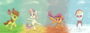Cutie Mark Seasons by AssasinMonkey