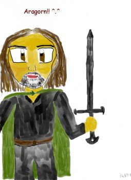 Chibi Aragorn-Coloured by Viggo-Lovers