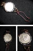 Faetish Charm: Safe Travel Coin by earthalchemyst