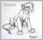 Sad Simba by OmegaLioness