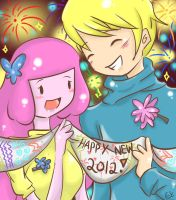 Let us welcome the New Year by Kasugaxoxo