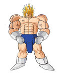 REALLY Super Vegeta by EspadaDelOscuro