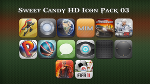 Sweet Candy HD Icon Pack 03 by vasyndrom