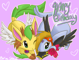 Happy birthudai to leeeeee by FENNEKlNS