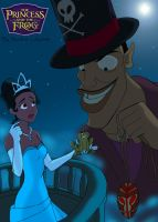 The Princess and the Frog by Stardust-Phantom