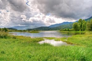 Lake Cerknica by XanaduPhotography
