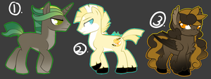 Artsy's MLP Adopt Set 4 [ C L O S E D ] by Twisted-Severity