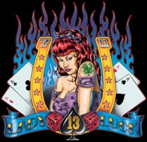 Lady Luck 2 by badass-artist