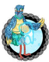 [AUCTION] Kingfisher Girl by EvalSquids