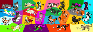 Cat Adopts ~5 Points Each~*Closed* by alliekittycat
