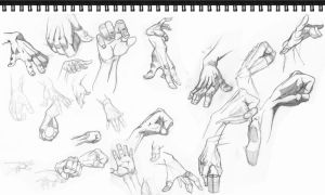 Hand Practice 2... by risingson16
