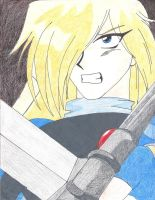 Gourry the Swordman by animedemon77