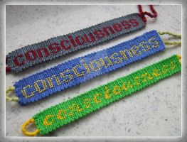 Consciousness (Friendship bracelet 20 x3) by lonely--soldier