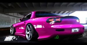 Mazda rx 7 tuning by LiTTLE777
