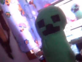 Creeper Plushie - For Sale by RBC-Comics