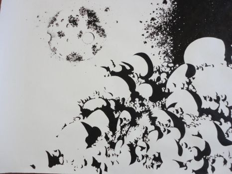 The Moon,Some Stars and A Cloud Full Of Chaos #1 by Edith-Lane